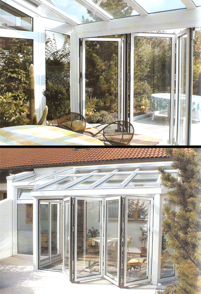 Chiusure locali pareti a libro verande vani scala - Verande su terrazzi ...